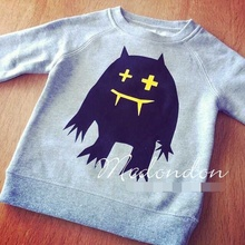 INS Hot autumn baby children's clothing add wool fleece warm lovely sweaters hoody(China (Mainland))