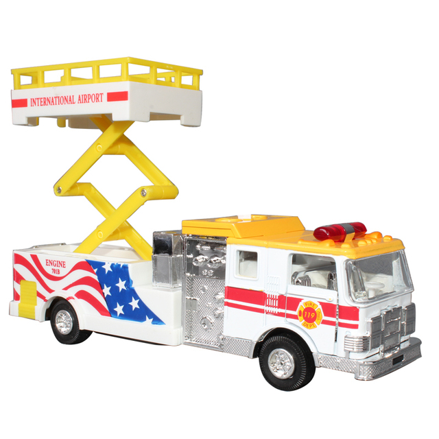 free shipping Toy car desktop rescue vehicles alloy car model toy car alloy car models