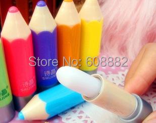 Бесплатная доставка супер мягкие карандаш бальзам для губ длительный увлажняющий питательные губы прозрачный натуральный фруктовый аромат помада # 255