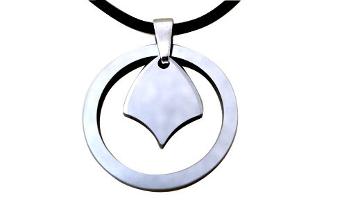 fashion jewelry tungsten pendant necklace Wholesale for men women(China (Mainland))