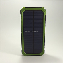Super Solar Travel Charger power bank backup Dual USB Power Bank Battery external Portable For all Cellphone mobile phone/tablet