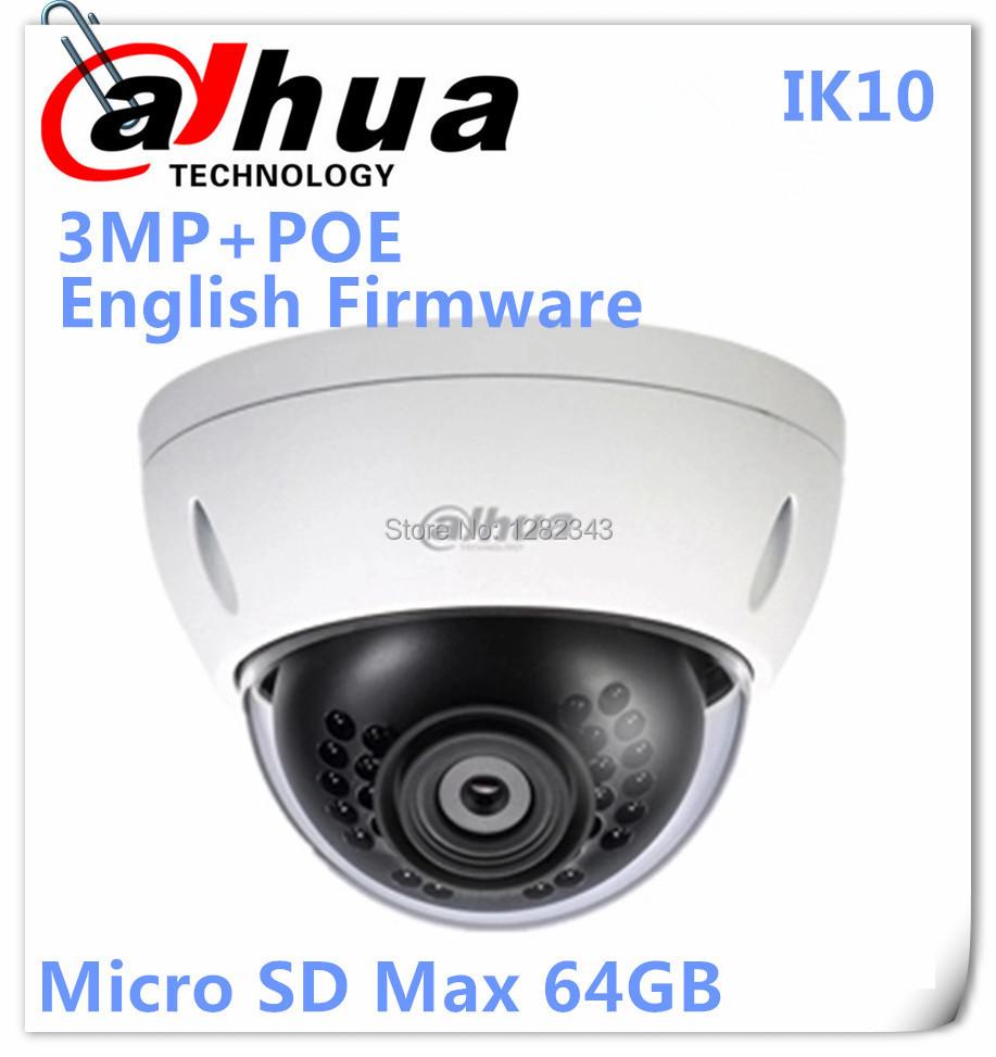 Камера наблюдения DAHUA 3Mp ipc/hdbw4300e/ip dh/ipc/hdbw4300e/poe /micro SD 1/1 IPC-HDBW4300(5)E-AS dahua ipc hfw4431k as i4 stellar camera 4mp poe sd card slot audio alarm interface ip67 ir120m bullet camera with bracket