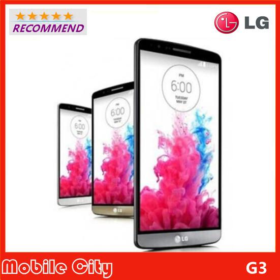 "Original Refurbished LG G3 F400/D855/D850 Unlocked Cell Phone 3G/4G 13MP 3GB RAM Quad Core 5.5"" Smartphone Free Shipping(China (Mainland))"