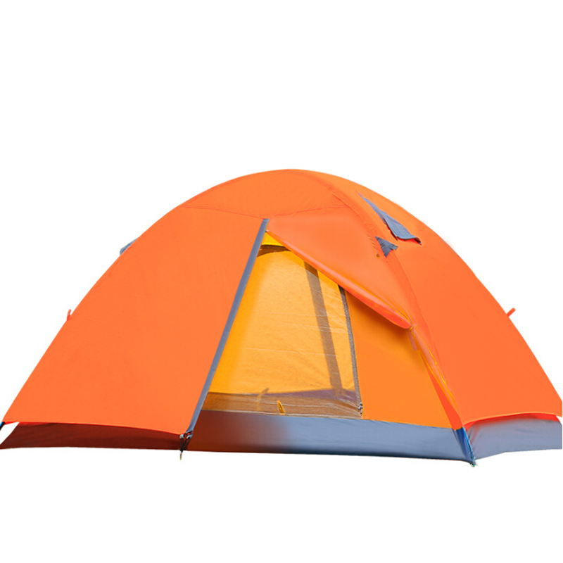 Outdoor double double rain-proof aluminum pole tent camping tent for three season camping tents<br><br>Aliexpress