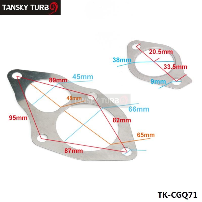 TANSKY for Mitsubishi TD04 TD05 TURBO GASKET SET Outlet Inlet Oil Drain 4pcs 10pcs Turbo Gasket