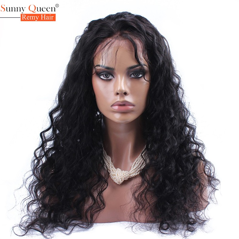Indian Virgin Hair Wig Loose Curly Full Lace Human Hair Wigs For Black Women Lace Front Human Hair Wigs Glueless Full Lace Wig