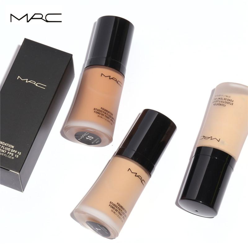 MRC 9 Colors Face Foundation Makeup Base Liquid SPF15 Moisturizering BB Cream Concealer Whitening Oil-control Maquiagem(China (Mainland))