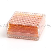 sale!!  5pcs Silica Gel Desiccant Moisture Orange Indicating Suit For Absorb Box Reusable(China (Mainland))