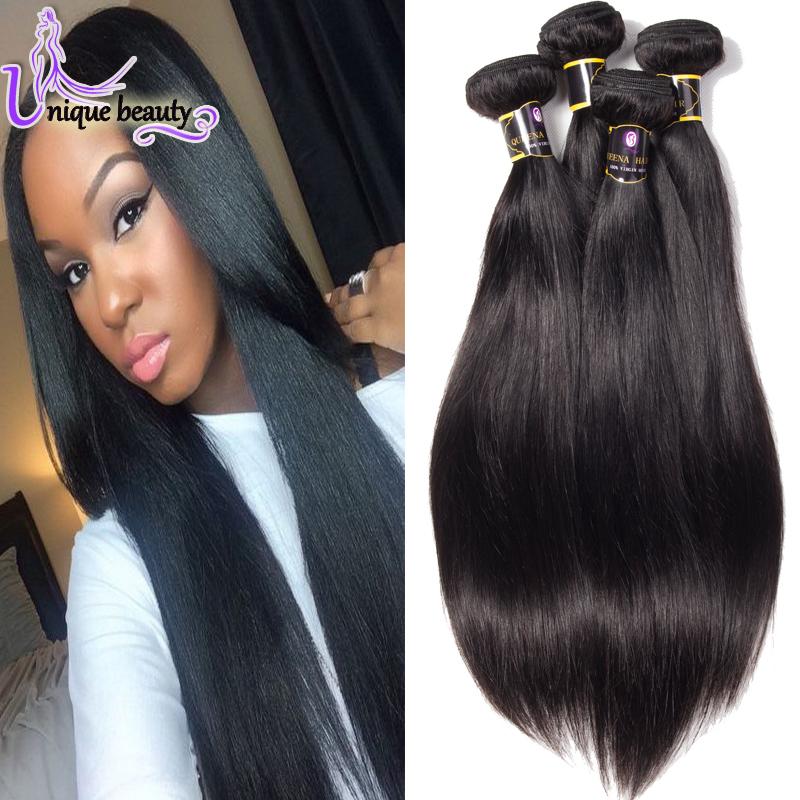 Hot Ali Luxy Hair Company Queen Virgin Malaysian Hair 7A Malaysian Straight Hair Cheap Straight Virgin Hair 3 Bundle Deals