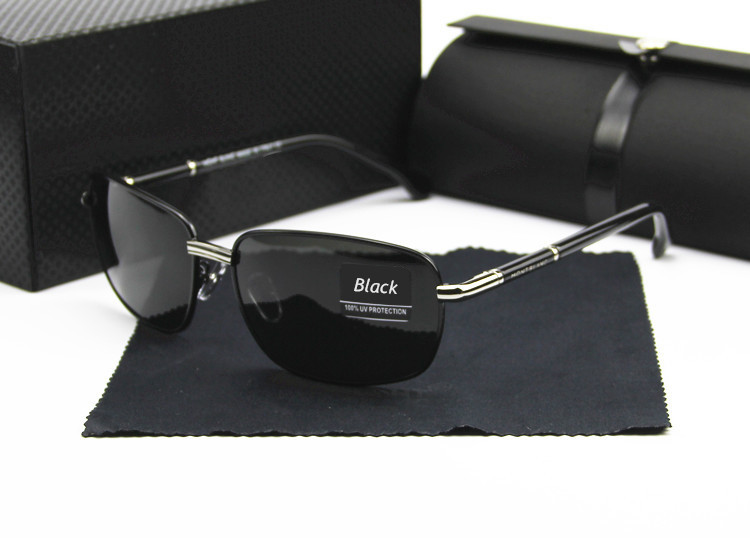 2015 Fashion Retro luxury sunglasses polarized Luxury sunglass gafas de sol holbrook with men brand designer original box 370(China (Mainland))