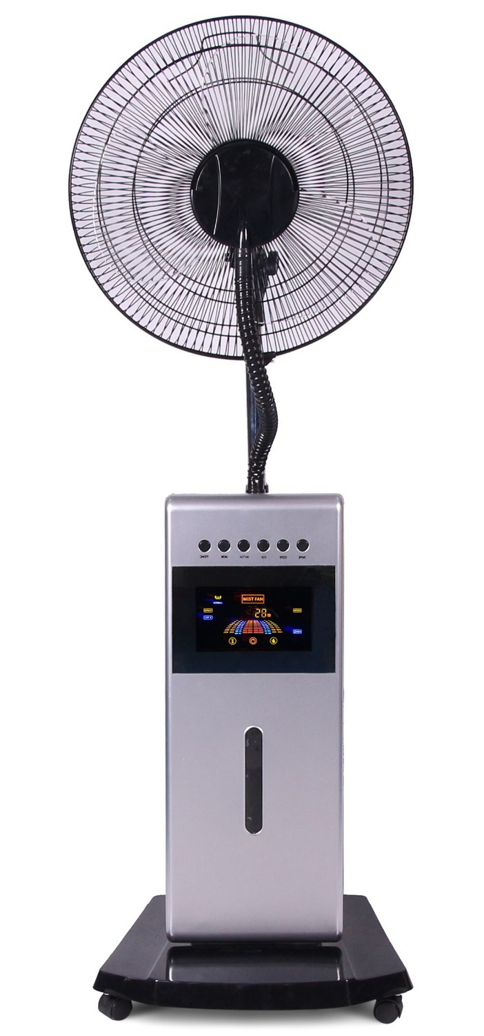2015 Hot-selling summer cooling cooler water misting fan for home use remote control ultrasonic humidifier to support wholesale.(China (Mainland))