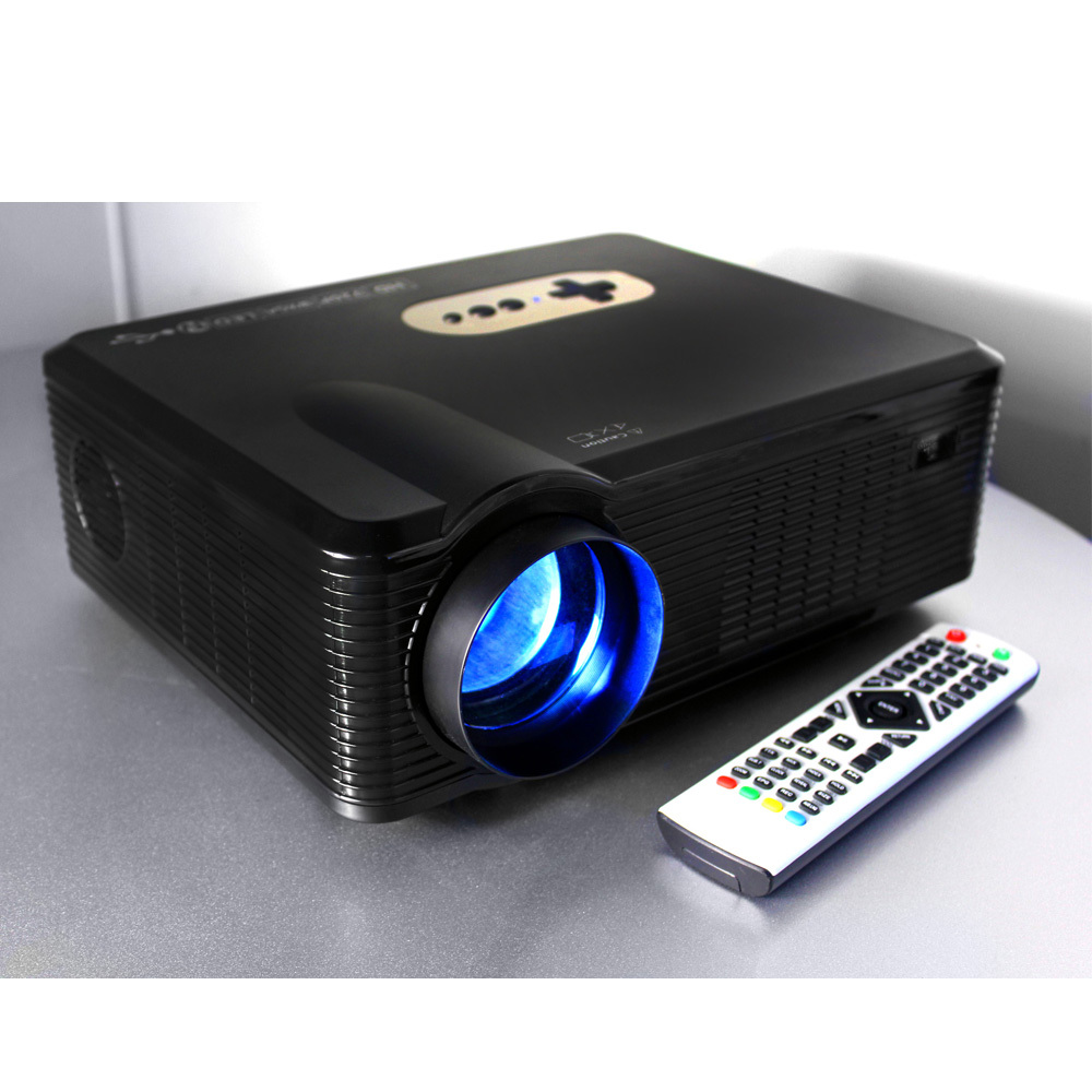 cheap hd beamer / projektor / projecteur with native1280*800 720p dual speakers for DVD player xbox one game cube play station(China (Mainland))