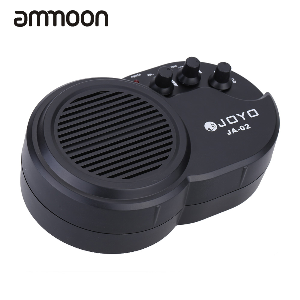 New Top Quality JOYO JA-02 3W Mini Electric Guitar Amp Amplifier Speaker with Volume Tone Excellent Distortion Effect Control(China (Mainland))