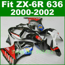 Fairing kit For Kawasaki 2000 2001 2002 ZX6R fairings font b Play b font font b