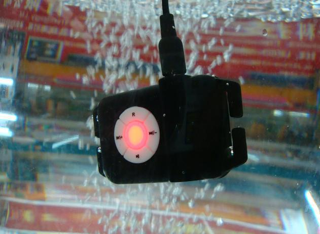Special MP3 waterproof swimming diving underwater 3 meters free shipping(China (Mainland))