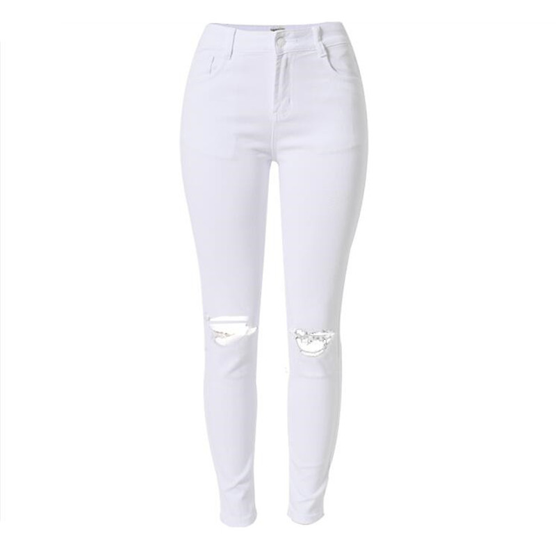 Online Get Cheap White Lady High Waist Skinny Jeans -Aliexpress ...