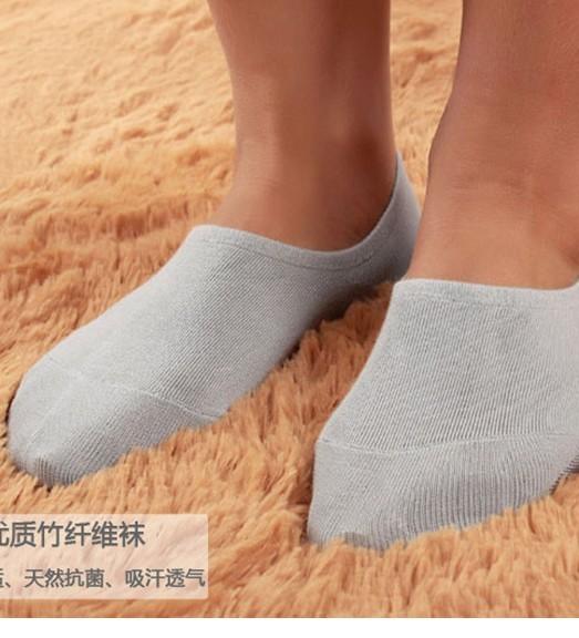 Wholesale men socks high quality Bamboo fibre deodorization invisible socks ,Men's Socks Free Shipping( 5pair/1lot )