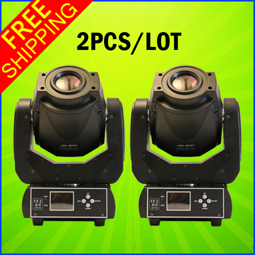 2PCS Per Carton New Product 90w Led Moving Head Spot Gobo Light DMX DJ Stage Lighting(China (Mainland))