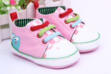 Hot Saling Baby Shoes Kids Cotton First Walkers Baby toddler shoes, soft bottom frog prince design   (China (Mainland))