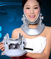 Cervical traction apparatus with high quality household fixed cervical stretched neck massager massage pillow