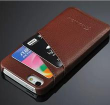 Genuine Leather Cell Phones Cover For Apple iPhone 5 5S Case back cover Leather Cover For i Phone 5 5S Mobile Phone Cases Bags