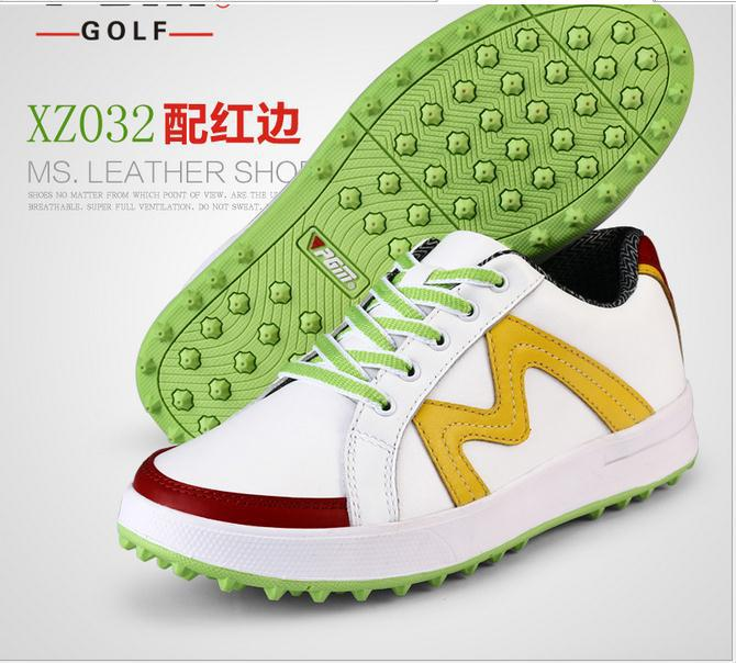 Genuine PGM golf shoes female leather super light shoes Golf waterproof  non slip shoes<br><br>Aliexpress