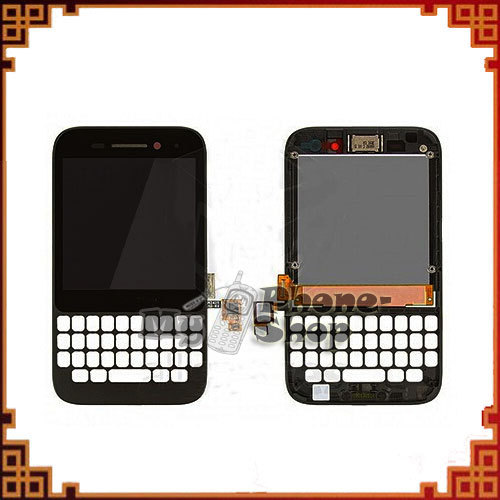 Smart Phone for Blackberry Q5 LCD with Touch Digitizer Assembly+black Frame Alibaba China Free Shipping(China (Mainland))