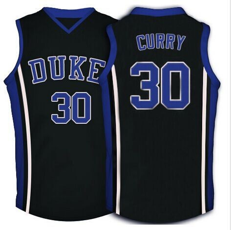 Free Shipping Stephen Curry #30 Duke Blue Devils Basketball Jersey Throwback College #22 Jay Williams Jerseys Customized(China (Mainland))