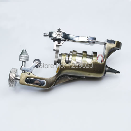 Фотография Special Supply Silver Primus Sunskin Rotary Tattoo Machine with Taiwan Motor Precise tattoo gun