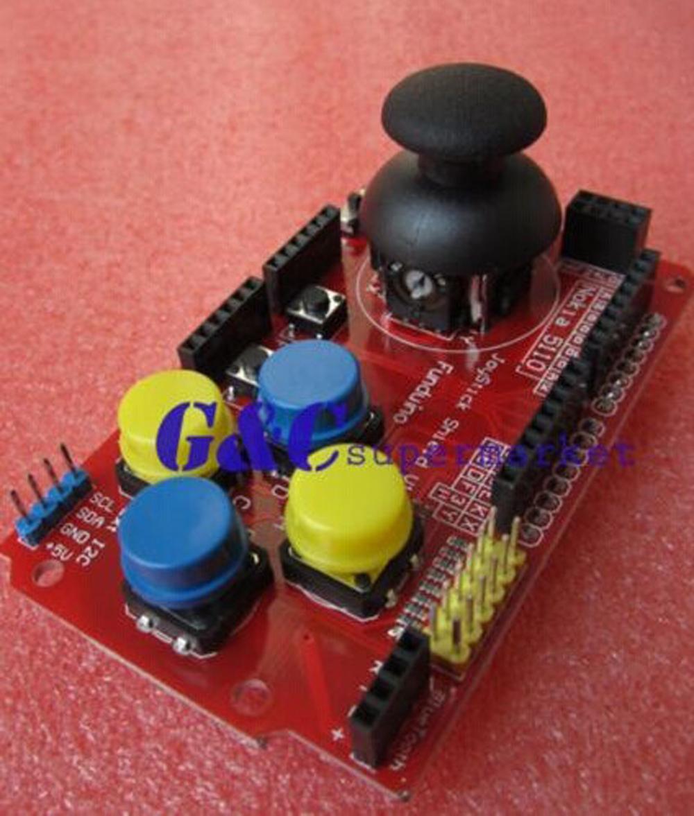 Гаджет  1PCS Gamepads JoyStick Keypad Shield PS2 nRF24L01 Nokia 5110 LCD I2C None Электронные компоненты и материалы
