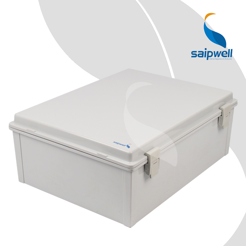 370*480*180mm ABS Waterproof Connection Box with Plastic Draw Latches / Hinge Type Enclosure SP-MG-374818(China (Mainland))
