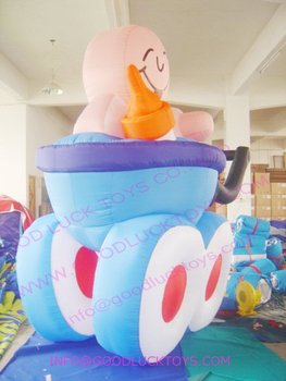 advertising, air modle, shopping cart,inflatable replica,  wholesale,delivery