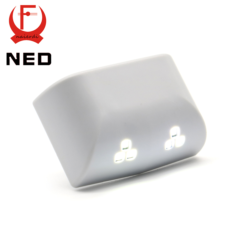 NED Universal 0.25W Inner Hinge Double LED Sensor Light System For Kitchen Bedroom Living room Cabinet Cupboard Closet Wardrobe(China (Mainland))