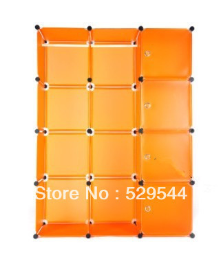 On Sale DIY Wardrobe simple wardrobe combination folding wardrobe steelframe Reinforce the folding closet