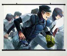 Anime Ace of Diamond Sawamura Eijun Home Decor Japan Poster Wall Scroll 008