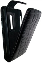 Business Type  for Blackberry 9900 case Leather Smooth and Crocodile Pattern 9900 Vertical Flip Leather Case Mobile Phone Case(China (Mainland))