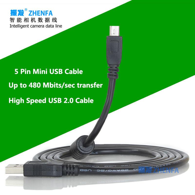 Zhenfa USB Cable for Ricoh Caplio GX GX8 GX100 GX200 R4 R5 R6 R7 R10 RR30 GR Digital II(China (Mainland))