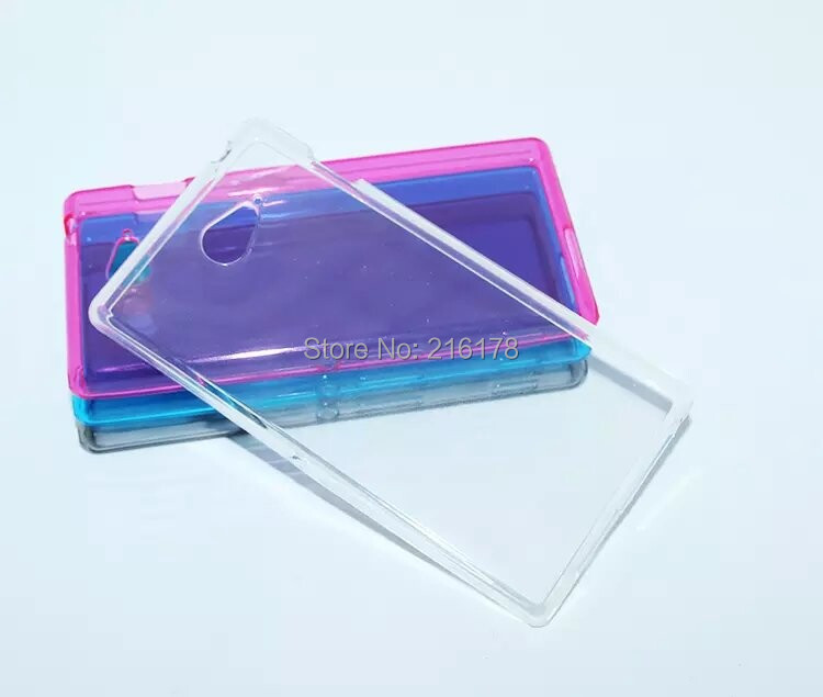 TPU Silicone Gel Case Cover Sony Xperia M2 D2305 D2303 D2306 Dual D2302 Clear Transparent Soft 0.6mm Ultra thin Flexible - Shenzhen Emico Technology Co., Ltd. store