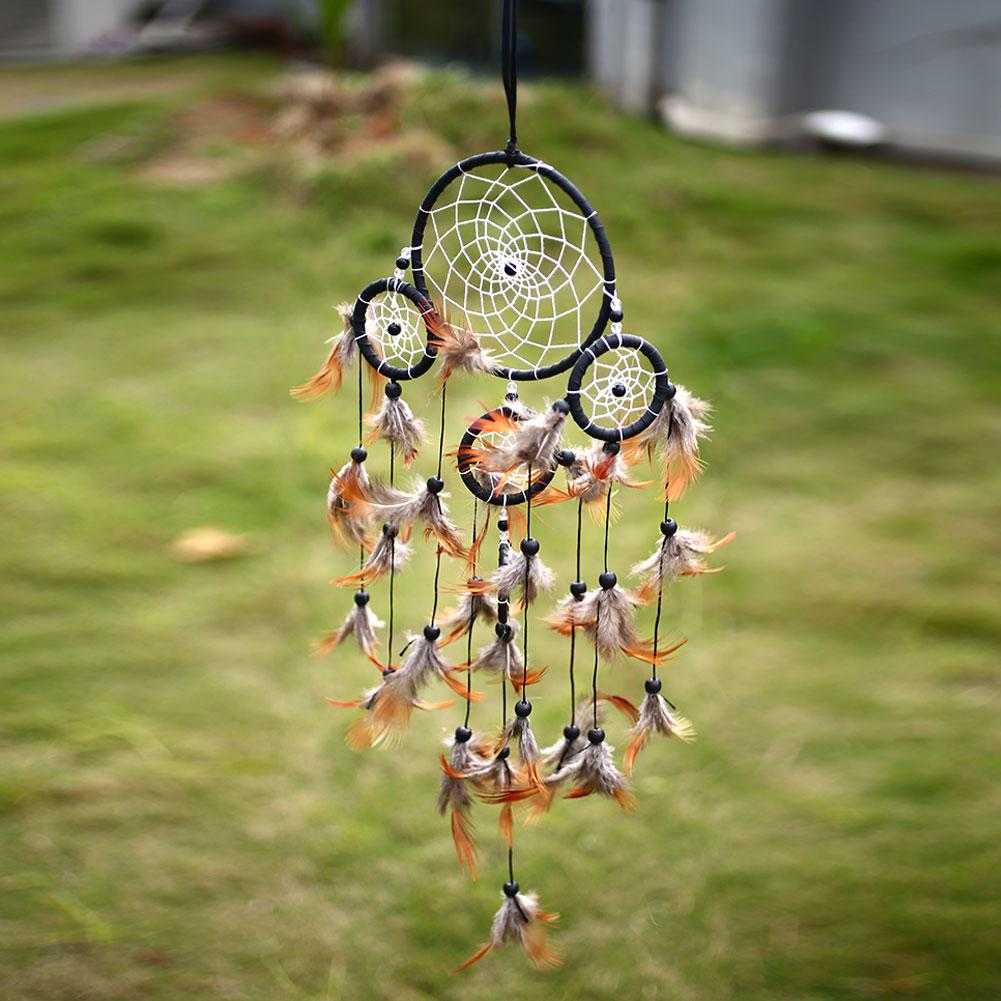 Home Dream Catcher Net Feather Indian Lucky Hanging Decor Ornament Gift