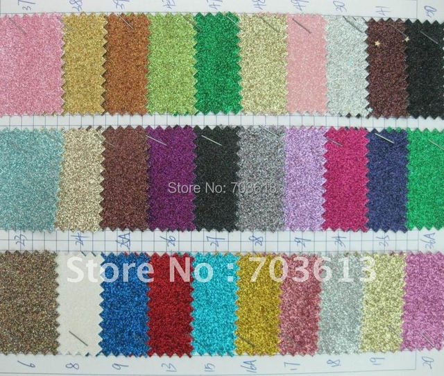 Glitter leather for shoes, mix order F116