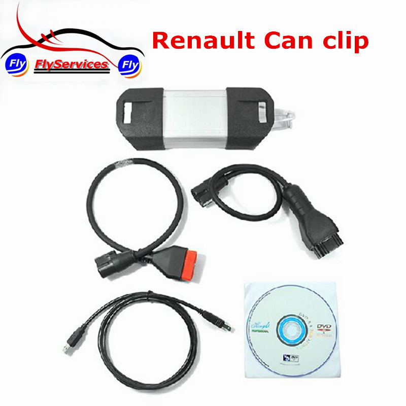 V151 Renault Can Clip Diagnostic Tool Renault OBD2 Supports Multi-Language High Quality + Performance Auto Tool(China (Mainland))