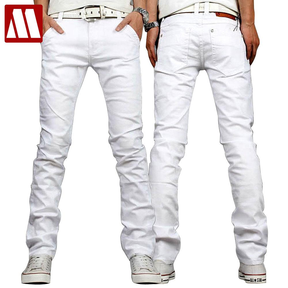 Cheap Mens White Jeans