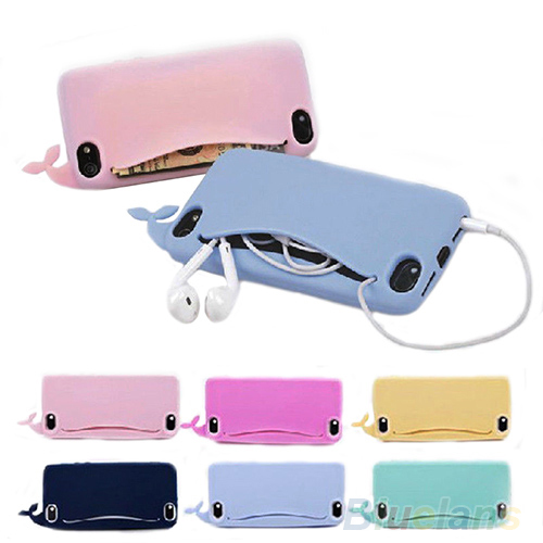New phone bag handbag Big Mouth Rubber Soft Case Cover phone case for iPhone 4/ 4S/ 5/ 5S 03BJ(China (Mainland))