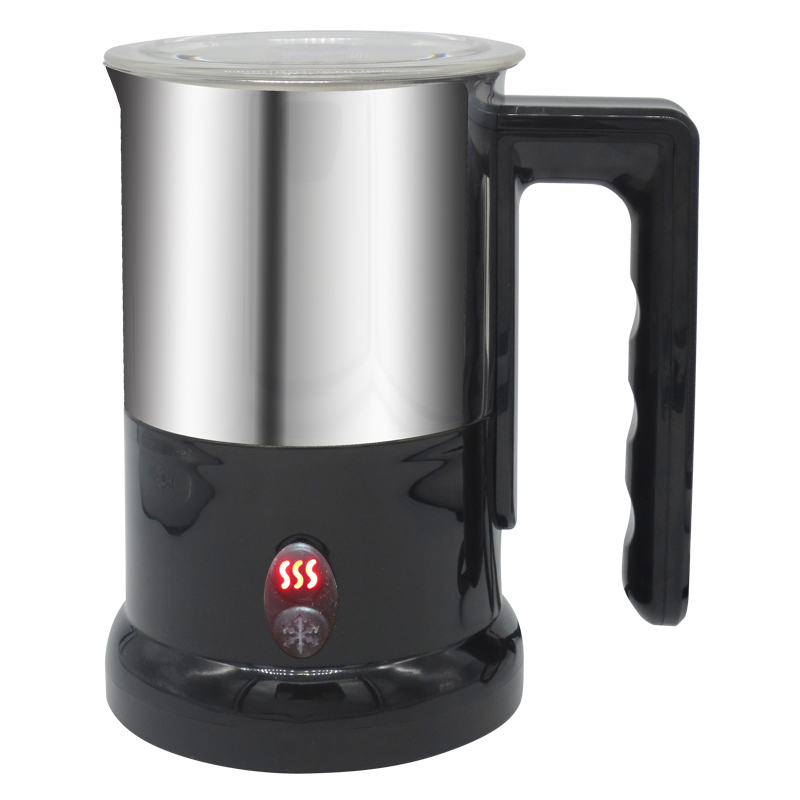 115ml VDE Cord MilkFoam Whisking Machine Aeroccino Ivation Cordless Automatic Electric Milk Frother Cappuccino Maker