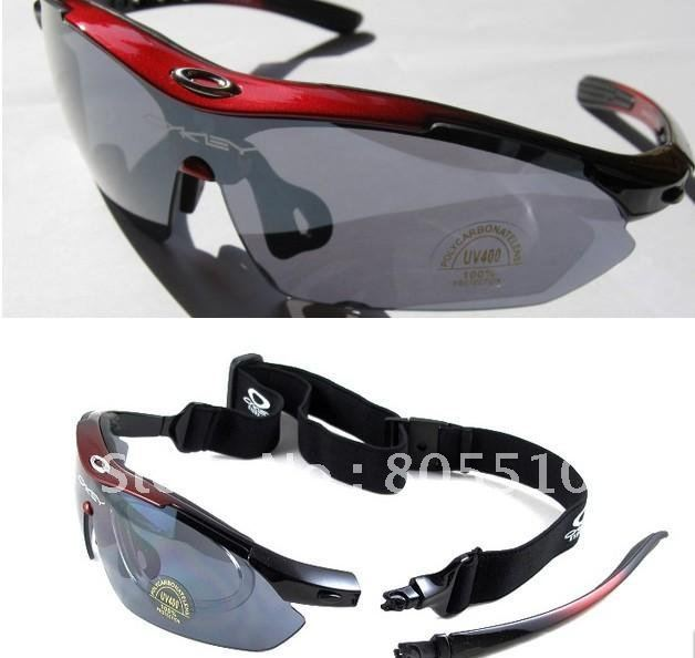 Cycling Riding Bicycle Bike UV400 Sports Sun Glasses Eyewear Goggle 5 color lens