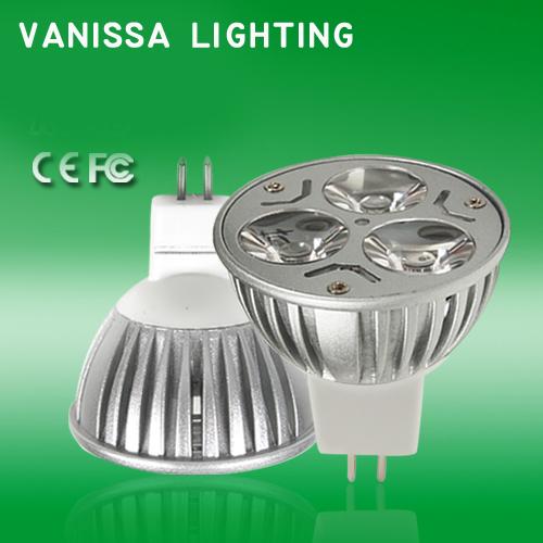 New Arrival LED Spotlght Aluminum LED Light Cold Warm White MR16 DC12V 6W LED Bulb for Home Use(China (Mainland))