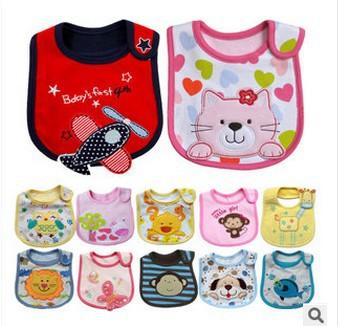 Hot Sale Newborn Bibs Baby Waterproof Bib Baby Clothing Kids Apron Saliva Tower Baberos(China (Mainland))