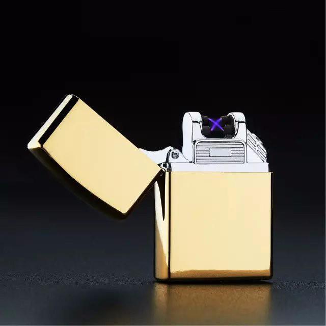 ถูก 5ชิ้นบุหรี่อิเล็กทรอนิกส์เบาบุหรี่ซิการ์เบาบางเฉียบUSB Flamelessไฟฟ้าArcเบาencendedor