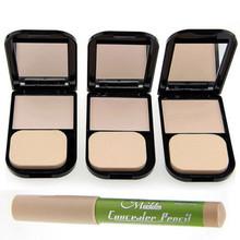 Foundation Concealer Pencils Poreless Pressed Powders Face Contour Cosmetics(China (Mainland))