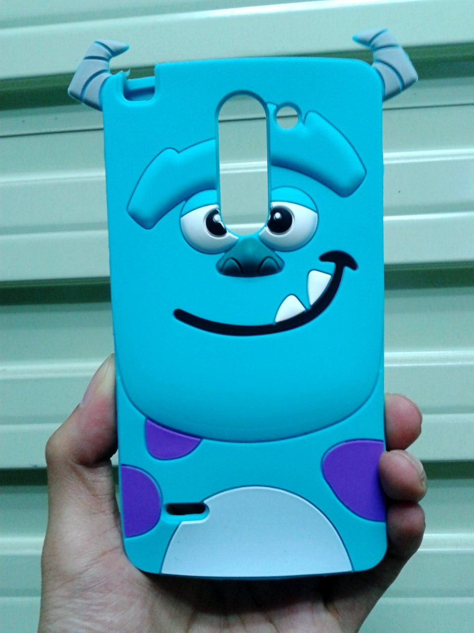 3D Cute Cartoon Sulley Soft Rubber Cover Silicone Case LG Optimus G3 Stylus D690 D690N - Made In China Centre store